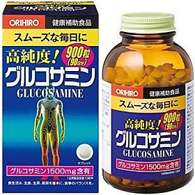 Thực phẩm chức năng Viên uống hỗ trợ trị đau nhức xương khớp Glucosamine Orihiro 1500mg 900 viên Nhật Bản