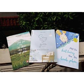 Combo Tuổi trẻ: Sống tối giản - Tuổi trẻ sống an nhiên nhưng đừng an phận - Một lần biết buông vạn lần hạnh phúc, tặng book mark