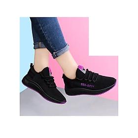 Giầy thể thao sneaker nữ buộc dây V202