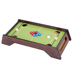 Wooden Billiard Pool Table Game Table Billiards Game for Family Ice Ball Table Game Competitive Board Games