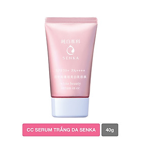 CC Serum trắng da Senka WHITE BEAUTY SERUM IN CC 40G