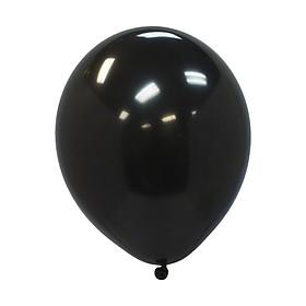 20 bong bóng cao su đen trơn