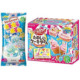 Combo Kẹo Popin Cookin Kracie: Soda + Kẹo Sáng Tạo Thế Giới Diệu Kỳ - Giao mẫu ngẫu nhiên