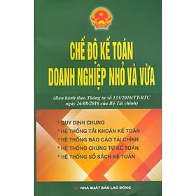 Sách - Chế Độ Kế Toán Doanh Nghiệp Nhỏ Và Vừa (Theo Thông Tư 133/2016/TT-BTC Của Bộ Tài Chính)