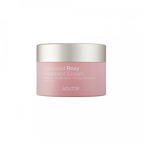 Kem dưỡng phục hồi da chiết xuất hoa hồng AQUTOP Advanced Rosy Treatment Cream (50 ml)