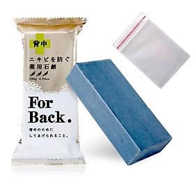 Xà phòng tắm ngừa mụn lưng cao cấp For Back Nhật Bản + Tặng 5 túi zipper 15x20cm