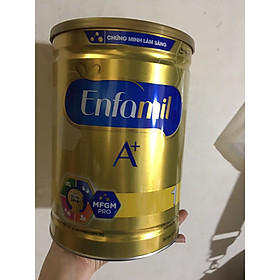 Sữa bột Enfamil A+ số 1 phát triển trí não cho bé từ 0-6 tháng tuổi