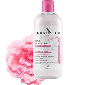 Nước tẩy trang Panaderma 500ml hương hoa hồng