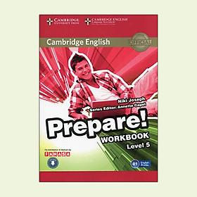 Cambridge English Prepare! Level 5 Workbook With Audio - FAHASA Reprint