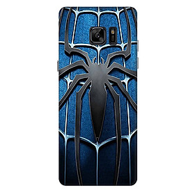 Ốp lưng nhựa cứng nhám dành cho Samsung Galaxy Note FE in hình Người Nhện