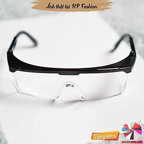 Kính bảo hộ chống bụi Mắt kính trong suốt đi đường bảo vệ mắt chắn tia UV thời trang K2