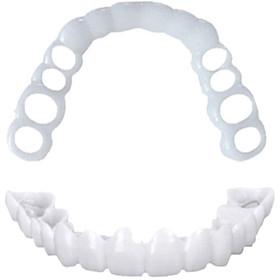 Dental Sleeve Denture Reusable 2pcs Oral Care Teeth Snap