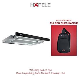 Máy Hút Mùi Âm Tủ Hafele HH-TG60E HH-TG60E (60cm) - 539.81.073 Xuất Xứ Châu Âu Kèm Than Hoạt Tính (Hàng chính hãng)
