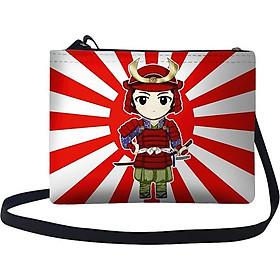Túi Đeo Chéo Nữ In Hình Võ Sĩ Đạo Nhật Bản - TUVH013 (24 x 17 cm)