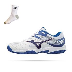 Giày tennis Mizuno Break Shot Men 61GA194027 hàng chính hãng - Tặng kèm tất Bendu cao cấp