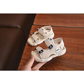 Sandal Bé Trai Quai Ngang, Sandal Bé Trai Đi Học Có 3 màu, có size dành cho bé từ 4 tháng đến 6 tuổi