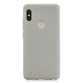 For Redmi note 6 pro Lovely Candy Color Matte TPU Anti-scratch Non-slip Protective Cover Back Case