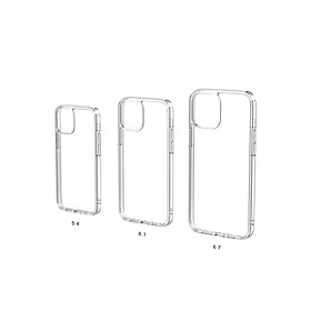 ỐP LƯNG MIPOW TEMPERED GLASS IPHONE 12 MINI I IPHONE 12 I 12 PRO I 12 PROMAX (TRANSPARENT) - Hàng chính hãng