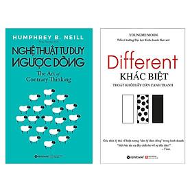Combo Sách : The Art Of Contrary Thinking - Nghệ Thuật Tư Duy Ngược Dòng + Different - Khác Biệt