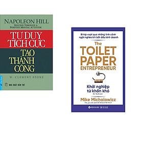 Combo 2 cuốn sách: Tư Duy Tích Cực Tạo Thành Công + Khởi nghiệp từ khốn khó