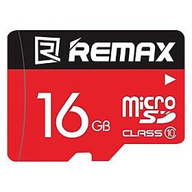 Thẻ Nhớ Micro SD Remax 16GB - Hàng Chính Hãng