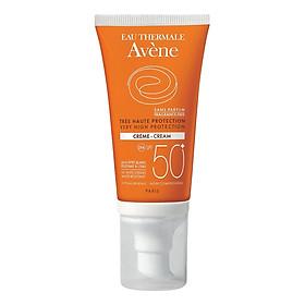 Kem Chống Nắng Không Mùi Cho Da Kích Ứng Avène Very High Protection Cream SPF50+ Fragrance Free (50ml)