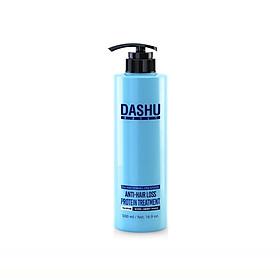 Dầu gội đầu ngăn rụng tóc và chăm sóc da đầu Dashu Daily Anti-Hair Loss Protein Treatment 500ml, dau goi thao duoc han quoc bổ sung Protein, phục hồi tóc uốn, nhuộm, tóc rối, yếu, gãy rụng, hư tổn nhiều, tóc khỏe bóng mượt tự nhiên.