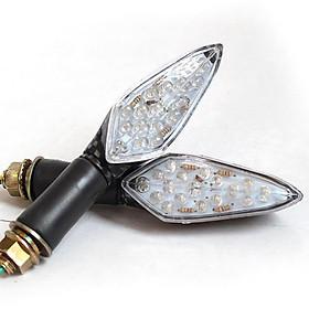 Đôi đèn xi nhan mô tô LKC 1108, ánh sáng mạnh, thiết kế đẹp mắt