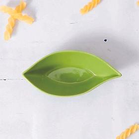 Hình đại diện sản phẩm Đĩa lá nhỏ xanh lá/GSSD026A5 Green Leaf-Shaped Plate