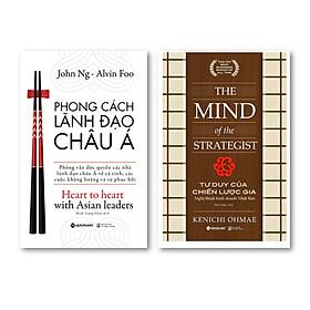 Combo Sách Tư Duy: Phong Cách Lãnh Đạo Châu Á + Tư Duy Của Chiến Lược Gia