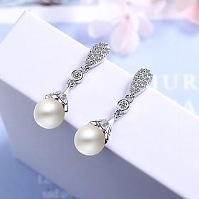 Bông Tai Nữ | Bông Tai Nữ Đính Đá Xinh Xắn XB-B19 - Bảo Ngọc Jewelry