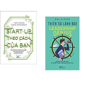 Combo 2 cuốn sách: Start-up theo cách của bạn + Thiên tài lãnh đạo