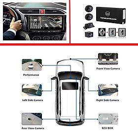 Camera hành trình 360 độ cao cấp Lotusviet chuẩn AHD dành cho tất cả các loại xe ô tô có sử dụng màn hình hiển thị LV-558 - Hàng chính hãng