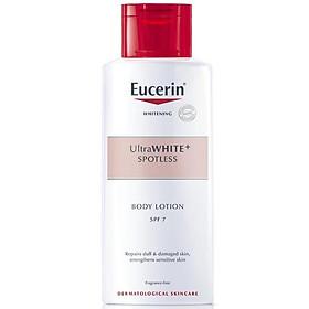 Sữa Dưỡng Thể Trắng Da Nhạy Cảm Eucerin White Therapy Clinical Whitening Body Lotion SPF7 (250ml)