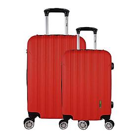 Set 2 Vali Du Lịch Trip P603 (Size 50/60) - Đỏ