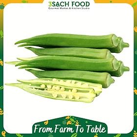 Đậu bắp (300gr/khay) - Chuẩn An Toàn VietGap - Luôn tươi mới, thơm ngon và bổ dưỡng