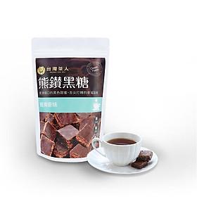 Viên trà đường nâu nguyên vị cổ (trà Đài) (120g/ gói)