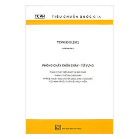 TCVN 9310:2012 Phòng Cháy Chữa Cháy - Từ Vựng : Phần 3 - Phát Hiện Cháy Và Báo Cháy. Phần 4 - Thiết Bị Chữa Cháy. Phần 8 - Thuật Ngữ Chuyên Dùng Cho Chữa Cháy, Cứu Nạn Và Xử Lý Vật Liệu Nguy Hiểm