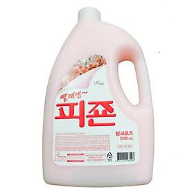 Nước xả vải hương hoa hồng cao cấp Hàn Quốc(Asobu Pigeon -Can 2500ml)