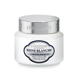 Kem trắng da L'Occitane Reine Blanche Whitening Cream 50ml
