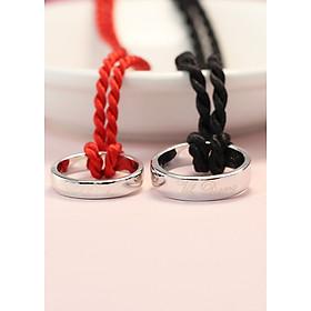 Dây chuyền đôi bạc dây chuyền cặp bạc đẹp DCD0025
