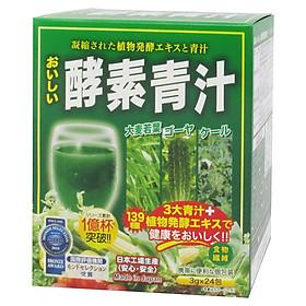 Bột mầm lúa mạch Aojiru rau quả lên men 150g (3g x 24 gói)