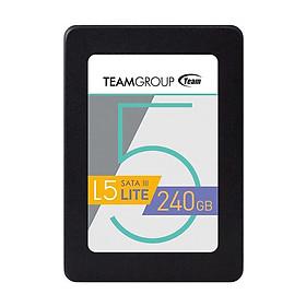 Ổ Cứng SSD 240GB L5 LITE 2.5 Team Group Sata III - Hàng Chính Hãng