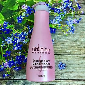 Dầu xả tái tạo tóc hư tổn Obsidian Demage Care Conditioner 1500ml-1