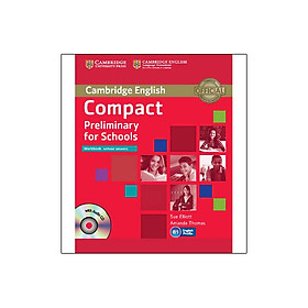 Compact Preliminary for Schools Workbook without Answers with Audio CD