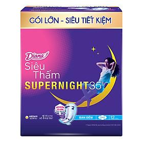 Băng Vệ Sinh Diana Siêu Thấm Supernight 35Cm (12)-1902