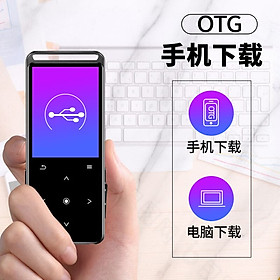 Bing Jie (BENJIE) M8 16G Bluetooth Black Sports MP3 / MP4 Music Player Mini Student Walkman Portable E-Book English Listening Card Recording Pen