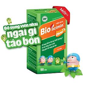 Thực phẩm bảo vệ sức khỏe viên nhai Bio-acimin Chew F (60 viên)