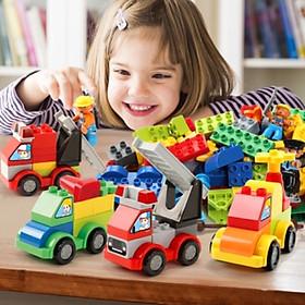 Lego feller xây dựng lắp ghép phương tiện giao thông 111 miếng