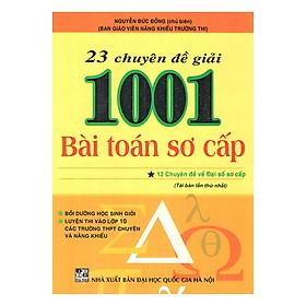23 Chuyên Đề Giải 1001 Bài Toán Sơ Cấp (Tập 1)